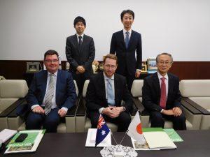 10.28オーストラリア大使館公使