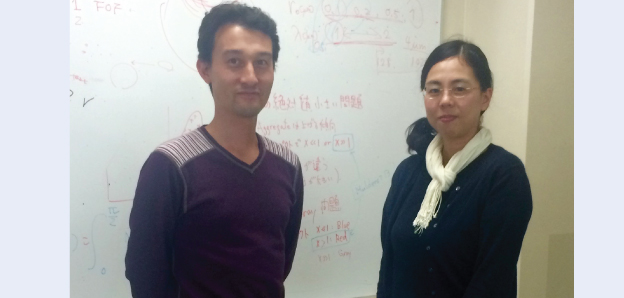 Associate Professor Yuki Kimura (left) and postdoctoral researcher, Dr Kyoko Tanaka.