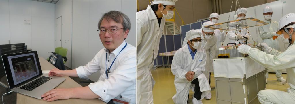 Prof TAKAHASHI, DIWATA-1