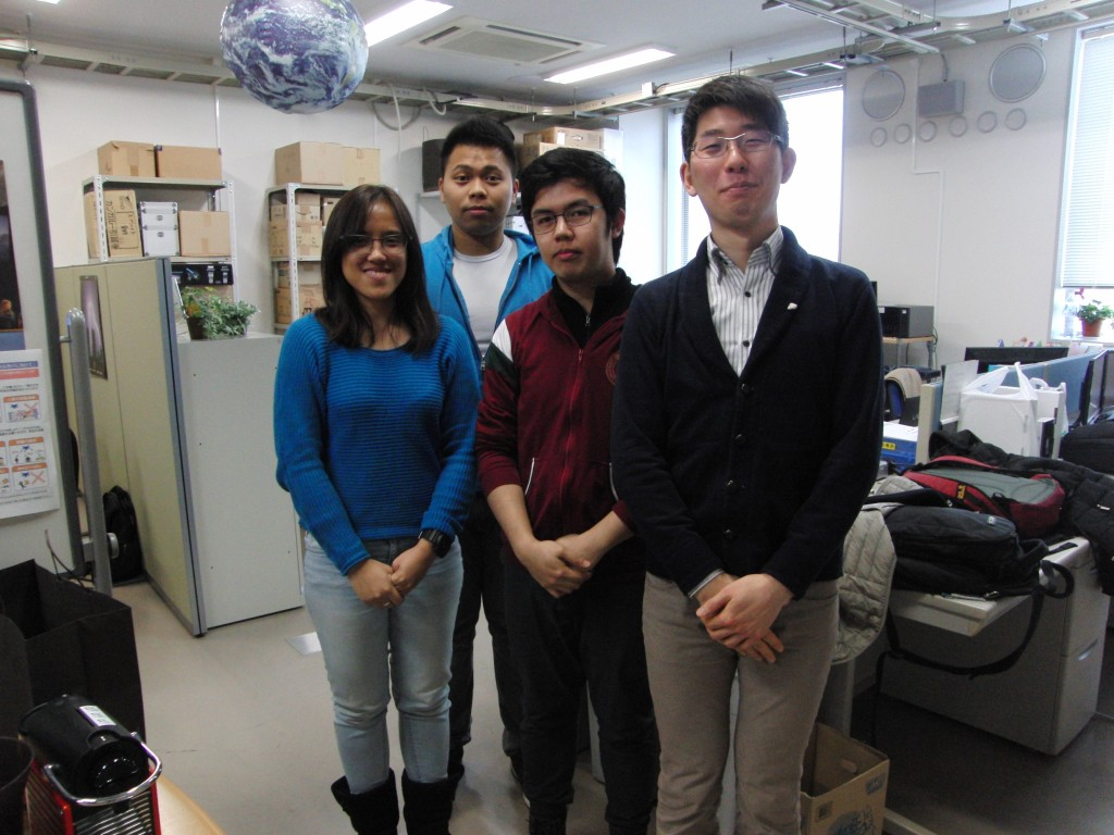 Graduate students from Philippines