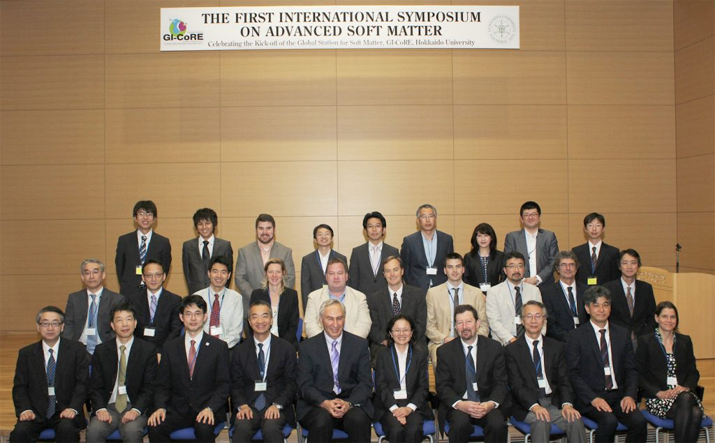 "The attendees of ""The First International Symposium on Advanced Soft Matter"""