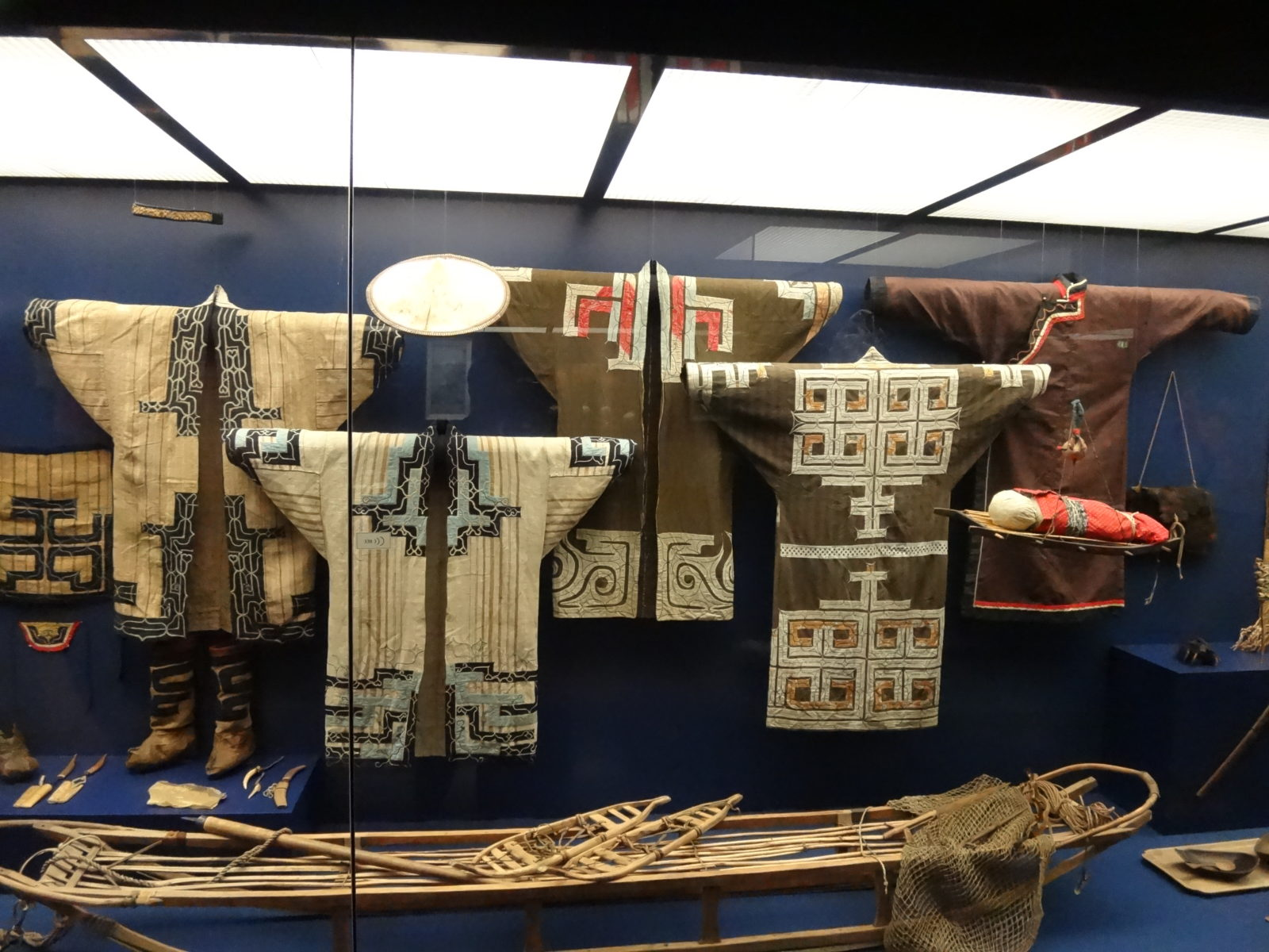 Ainu exhibition at the Leipzig Museum of Ethnology