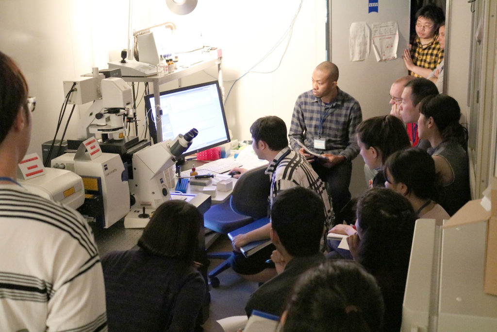 Confocal Laser Scanning Microscope practical