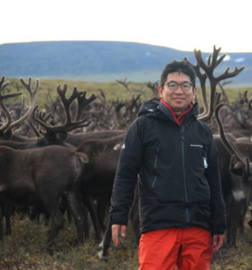 Dr. Katsunori Takase, Faculty of Letters, in Arctic Russia