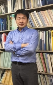 Dr. Yuzo Miyazaki at the Institute of Low Temperature Science