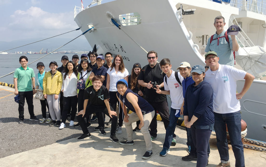 Participants of the Super Global Cruise 2019.