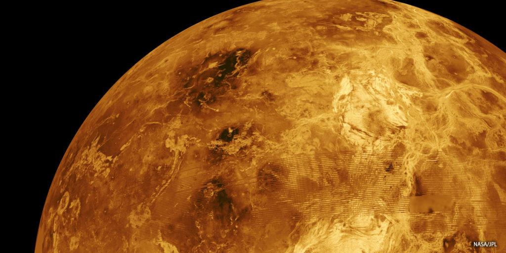 Venus overflade