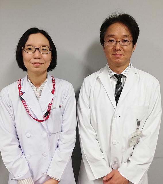 Photo of Prof Shimizu and Konno